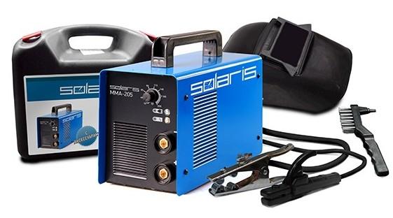 Сварочный аппарат Solaris MMA-205