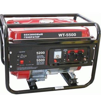 Бензогенератор WATT WT-5500